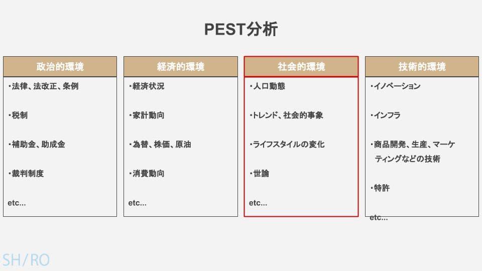 PEST分析